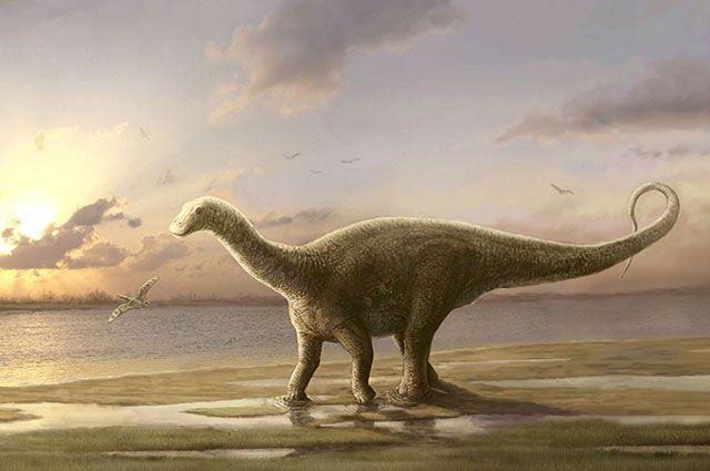 Динозавр-завропод.