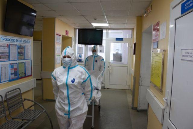 Тотальная пневмония: В Оренбуржье скончался восьмой пациент с COVID-19.