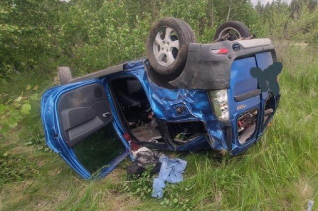 В Новосергиевском районе водитель «Лады Ларгус» погиб на месте ДТП.