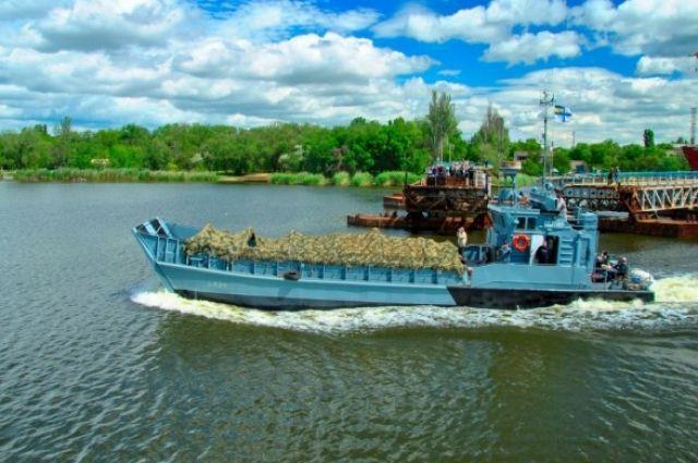 В Николаеве завершили ремонт украинского десантного катера «Сватово»
