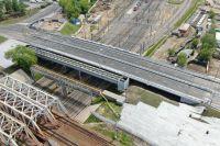 Завершено строительство путепровода от улицы Пруд-Ключики до 1-й Фрезерной.