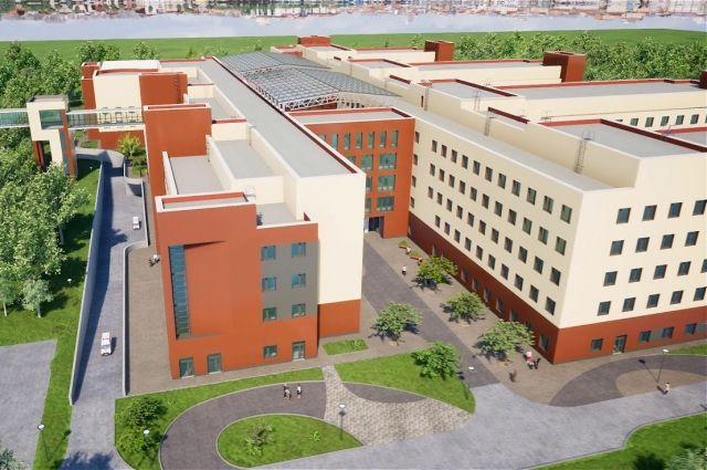 Детскую областную больницу обещают сделать не просто высокотехнологичной, а эталонной.
