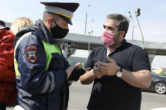 В Москве выборочно проверяют людей, которые ездят по городу