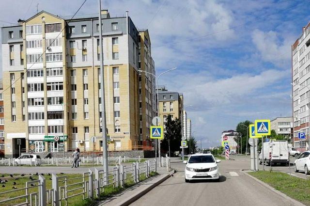 На Лесобазе в Тюмени водитель KIA Rio сбил десятилетнюю девочку
