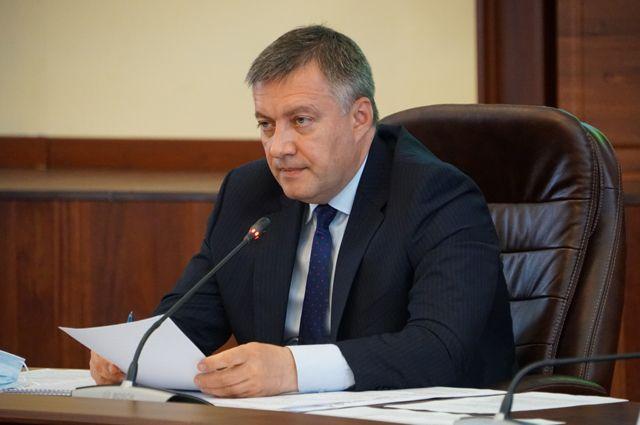 Врио губернатора Иркутской области Игорь Кобзев.