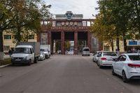 Главная проходная Горьковского автомобильного завода.