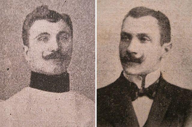 Петр Заковорот и Юлиан Мишо.