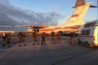 100 спасателей будут оказывать властям и предприятию помощь в ликвидации последствий ЧС.