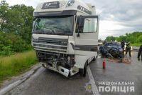 В Полтавской области произошло ДТП: два человека погибли