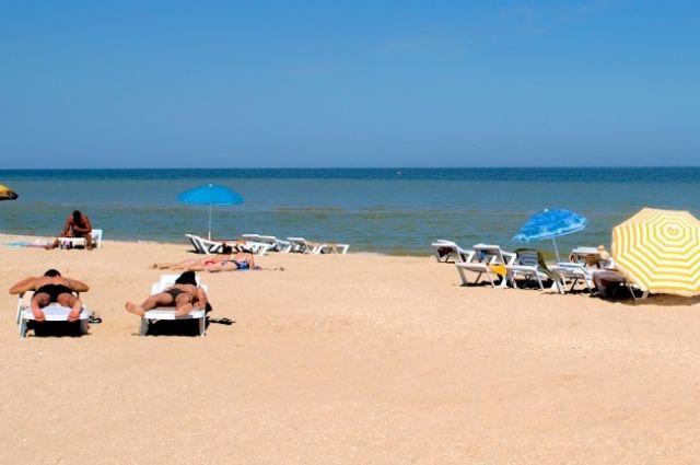 Нацгвардия усиливает патрули в курортных зонах на Азовском море