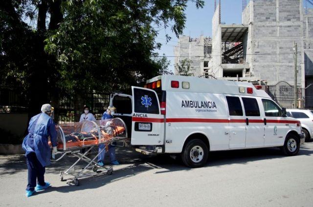 В Мексике за сутки зафиксировали 4442 случая COVID-19