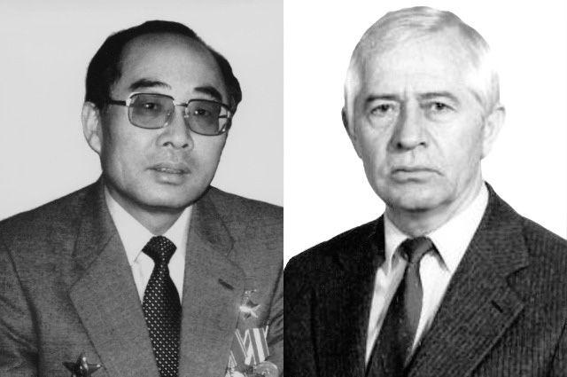 Евгений Ким и Владимир Лохов.