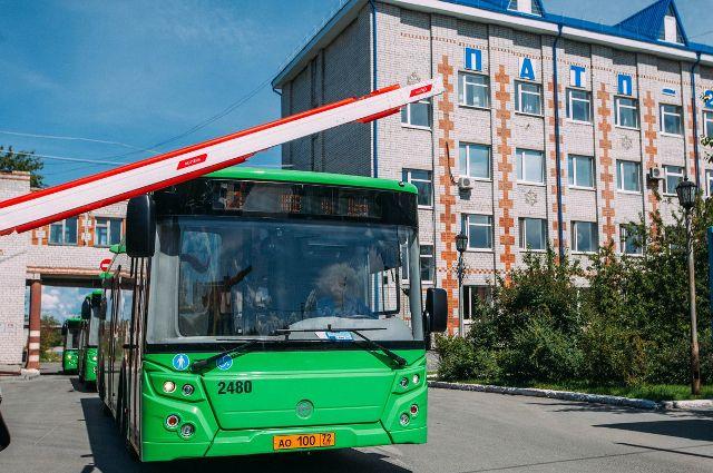 В Тюмени на Троицу увеличат количество автобусов