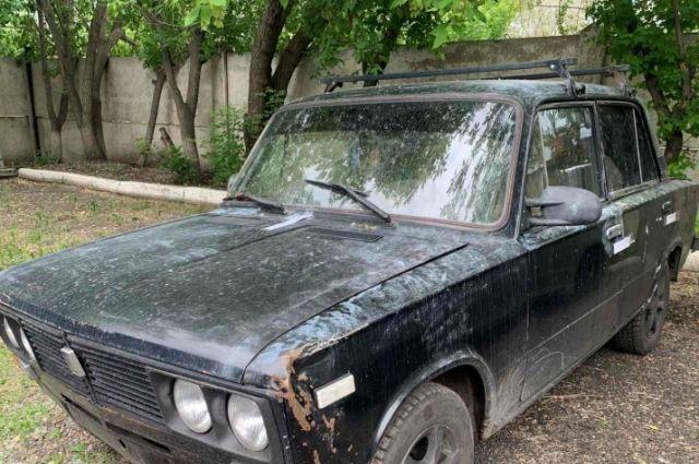 На этом автомобиле скрылись нападавшие.