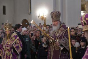 На Троицу патриарх Кирилл совершит литургию в подмосковном скиту