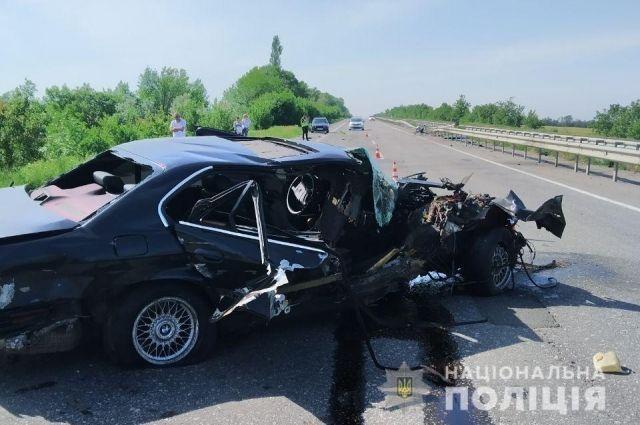 В Одесской области произошло ДТП: водитель погиб на месте
