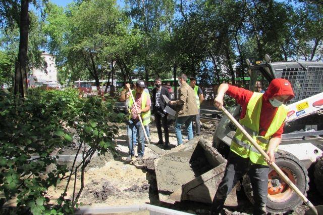 Антипино украсит новый зеленый уголок