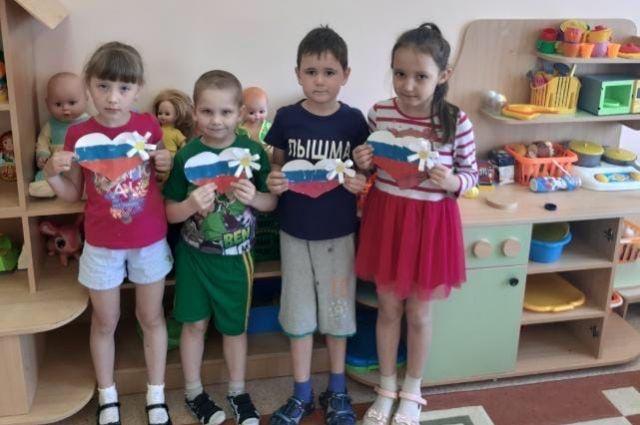 Дети Тюменской области участвуют в акции «Россия в объективе»