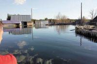 Посёлок Усть-Чёрная стал одним из наиболее пострадавших от паводка в Пермском крае.