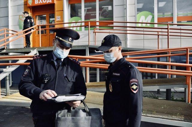 Полицейские вышли в рейд
