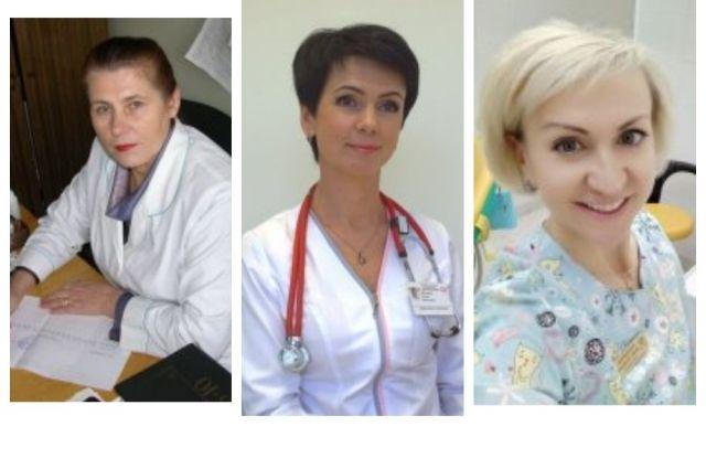 Любовь Бушенева, Лариса Илюшина, Мария Индерейкина.