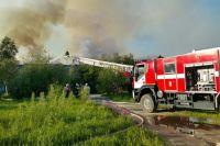 В Ноябрьске произошел пожар в расселенном доме