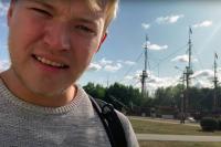 Британский блогер побывал у главной достопримечательности Воронежа - корабля Гото Предестинация.