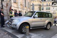 В Киеве пьяный водитель на краденом джипе устроил ДТП