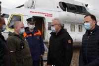 Всем пострадавшим будет оказана необходимая помощь. Инфраструктуру восстановят в сжатые сроки, заявил Александр Усс.
