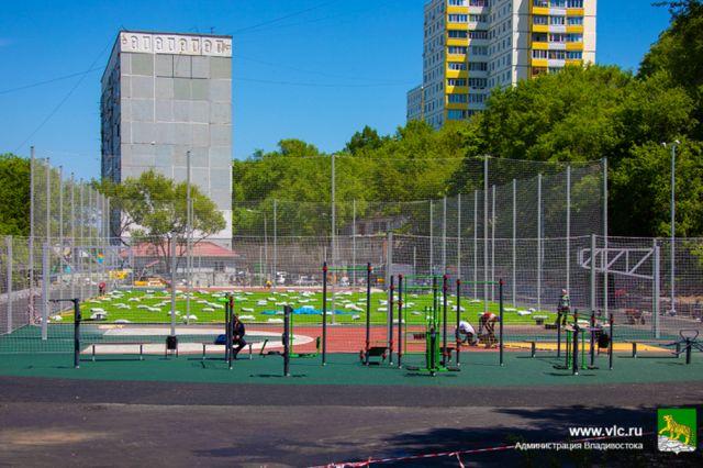 Заниматься спортом смогут и жители микрорайона.