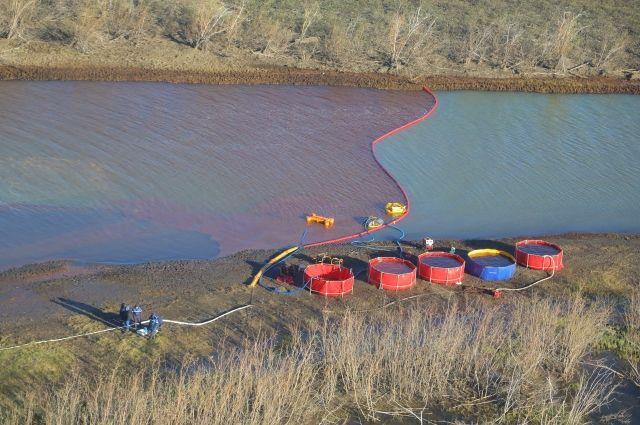 «Транснефть – Сибирь» помогает в ликвидации разлива топлива в Норильске