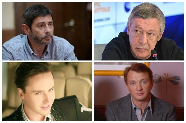 Валерий Николаев, Михаил Ефремов, Витас и Марат Башаров.