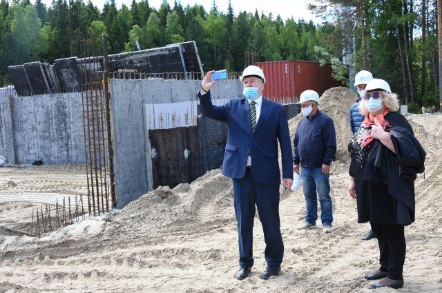 Школа в микрорайоне «Иртыш-2» будет самым крупным образовательным учреждением города