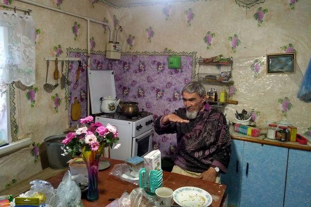 Рафкат Абзалов у себя дома.