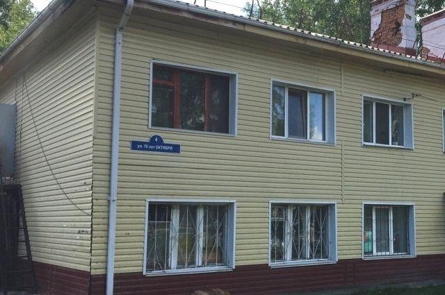 В аварийном доме по улице 70 лет Октября проведут текущий ремонт