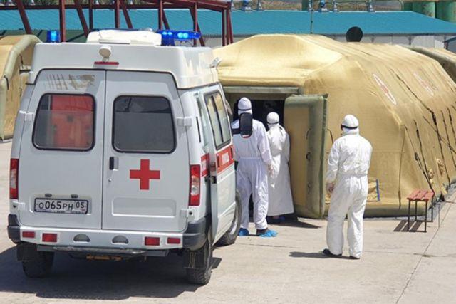 До развёртывания полевых госпиталей пока не дошло, но медики уже в дефиците.