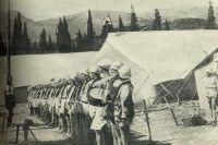 Пионерская линейка в «Артеке», 1925 г.