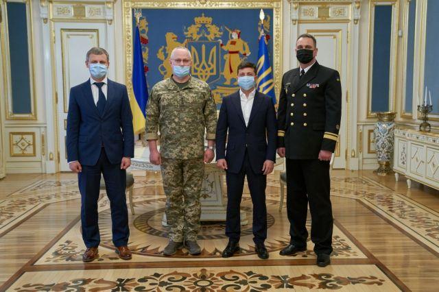 Зеленский назначил командующего Военно-морских сил Украины