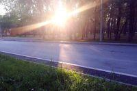 Отремонтирован загруженный участок тюменской объездной дороги