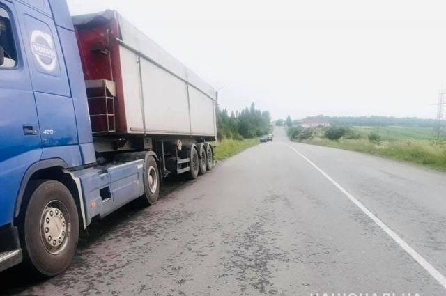 В Ивано-Франковской области колесо оторвалось от грузовика и убило пешехода