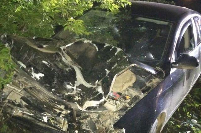В ДТП Лады Гранты с Volkswagen Passat погибли двое и одна ранена в Башкирии