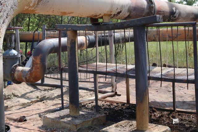 Завершены монтажные работы на газопроводе.