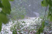 Красноярские спасатели предупреждают, что в непогоду лучше переждать в помещении.