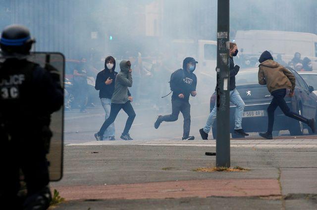 Беспорядки во Франции, архивное фото.