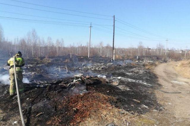Пожары стали бичом региона.