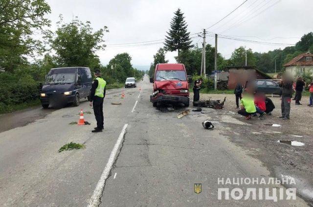 В Ивано-Франковской области в ДТП погиб 17-летний парень