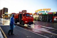 В Оренбурге из-за вспышки коронавируса продезинфицировали «Фермер базар».