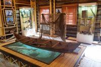 В таежном музее уже собраны первые экспозиции.