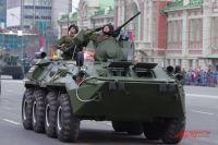 Мэр Новосибирска рассказал, что военные выйдут на парад победы в без масок.