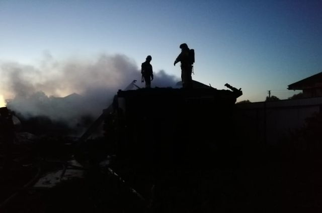 Четыре человека погибли во время пожара в Удмуртии